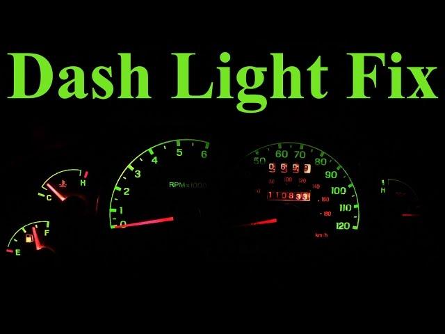 change dashboard lights cars ford