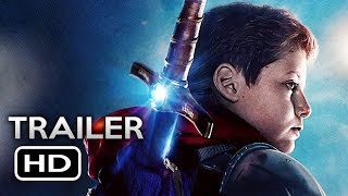 The Kid Who Would Be King Official Movie Trailer 2019 Patrick Stewart