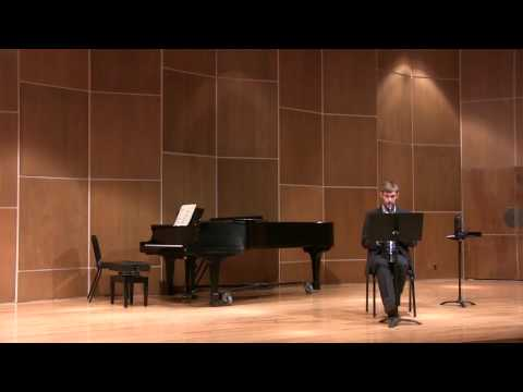 Bach - Chromatic Fantasy (Transcribed for Clarinet)