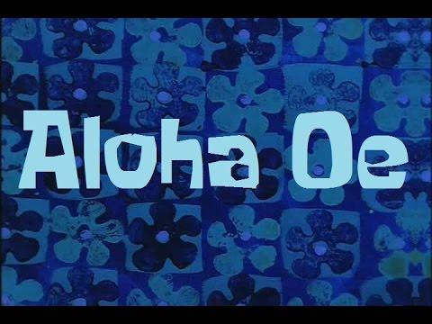 Spongebob Production Music Aloha Oe Chords
