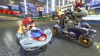 Mario Kart 8 Deluxe: Mushroom Cup Gameplay