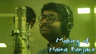 Making of naina Banjare song from pataakha movie -  Arijit Singh