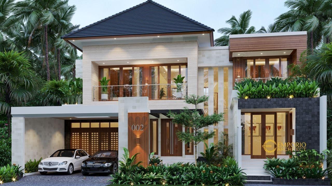 Video 3D Desain Rumah Modern 2 Lantai Bapak Sigit II - Madiun, Jawa Timur