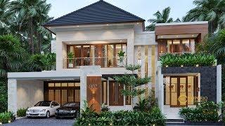 Video Desain Rumah Modern 2 Lantai Bapak Sigit II di  Madiun, Jawa Timur