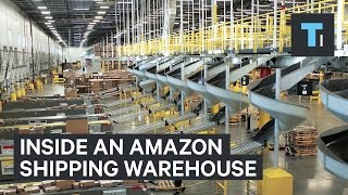Inside An Amazon Warehouse On Cyber Monday