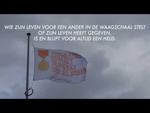 Burgemeester: 'Veteranen, blijf de verhalen vertellen'