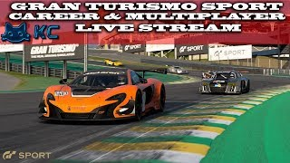 Gaming :Gran Turismo Sport (PS4) 🚗 Career & Online Multiplayer  (Live Stream🔴 20/07/2018)