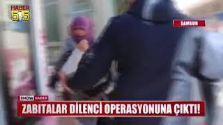 SAMSUN'DA DİLENCİNİN ''ZULA''SI PES DEDİRTTİ
