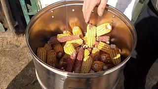 Лущилка кукурузы, самодельный станок, комбайн