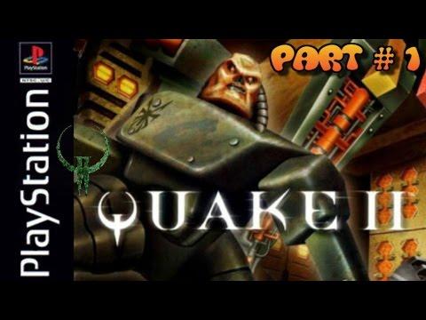 """Полное прохождение (((Sony PlayStation))) """"Quake 2"""" Раскрытые все секреты (Русская версия)"""