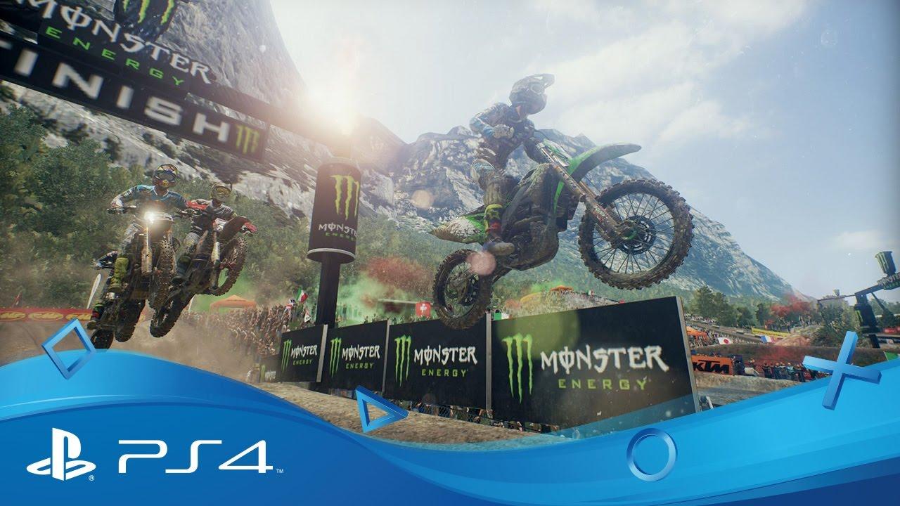 MXGP3 – The Official Motocross Videogame erscheint im Frühling für PS4