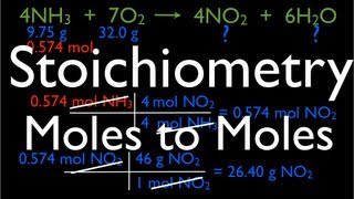 Stoichiometry: Moles To Moles