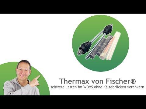 Thermax von Fischer® für WDVS und Holzständerwerk