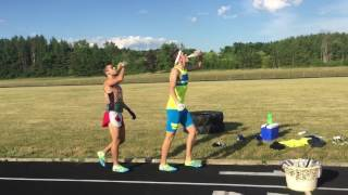 Grandma's Unofficial Beer Mile