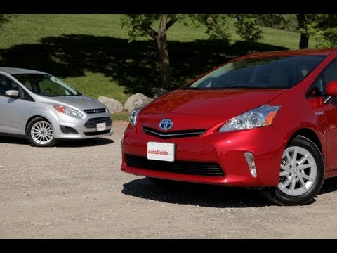 2013 Ford C-MAX vs 2013 Toyota Prius v Comparison