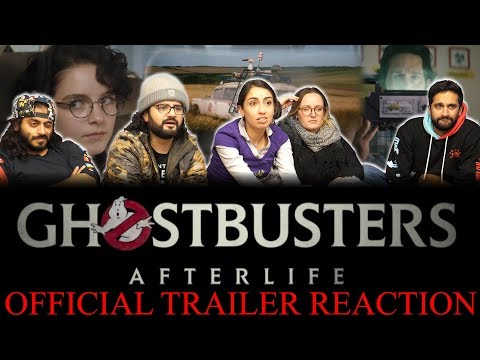 Ghost Busters - Official Trailer - Reaction