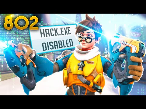 How A HACKER'S Natural AIM Looks!! | Overwatch Daily Moments Ep.802 (Funny and Random Moments)