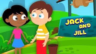 แจ็คและจิลล์ไปเมือง | บทกวีสำหรับเด็กวัยหัดเดิน | เพลงสำหรับเด็กทารก | Jack And Jill Went To Town