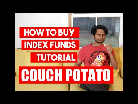 TUTORIAL: How To Setup Your Couch Potato Portfolio With Index Funds (TD E-series) (Canada)