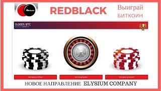 RedBlack Выиграй  биткоины Новое направление  Elysium company