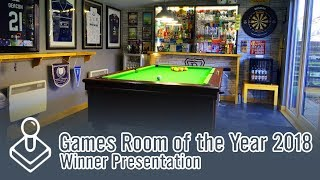 Games Room Of The Year 2018 - Winner Presentation!