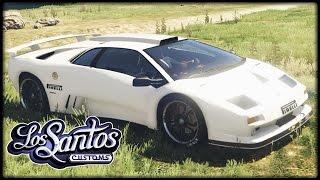 GTA 5 TUNING #18 | Lamborghini Diablo GTR - Deutsch - Grand Theft Auto 5 LOS SANTOS CUSTOMS