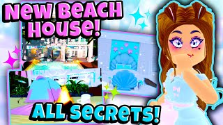 The BEACH HOUSE Is Here! ALL Secrets, Chests and Hacks in Roblox Royale High School Beach Update!