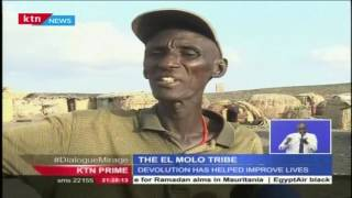 El Molo tribe is a small tribe struggling to live at the shores of Lake Turkana