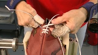 How Are NFL Footballs Made?