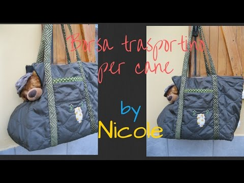 Borsa trasportino per cani - Dog carrier bag