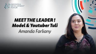 IDF Meet The Leader Amanda Farliany (Model & YouTuber Tuli)