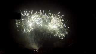 preview picture of video 'sylwestrowy pokaz fajerwerków. SALA BANKIETOWA VICTORIA Ostrów 48 98-275 Brzeźnio'