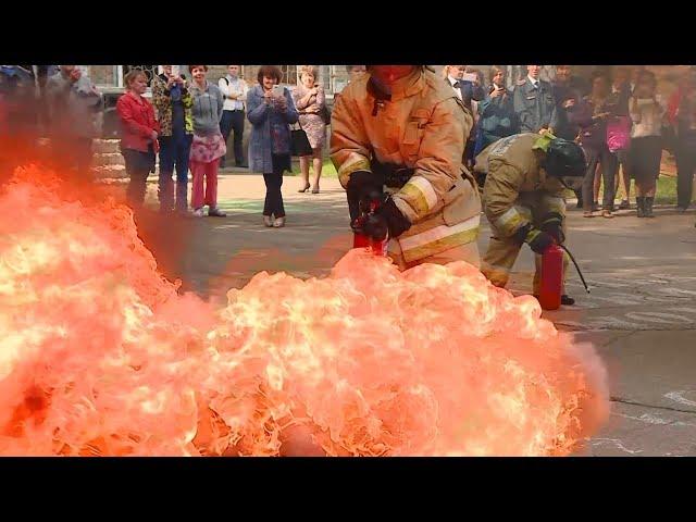 Как спастись из горящего здания?