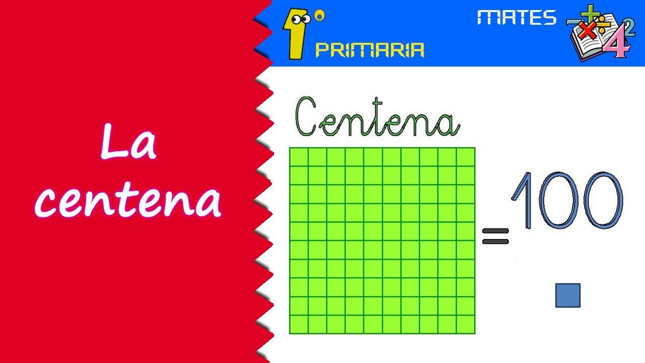 Matemáticas. 1º Primaria. Tema 11: La centena