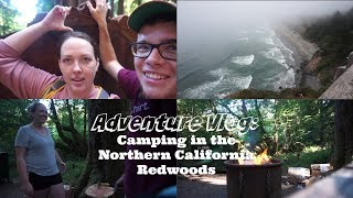 Camping in the California Redwoods and visit the PNW Coast || Adventure VLOG