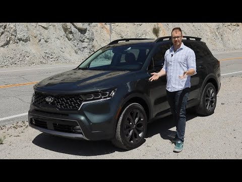 2021 Kia Sorento Test Drive Video Review