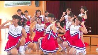 橋本高校新体操・バトン部 第2回「デバ祭」サブ会場、原音Ver.