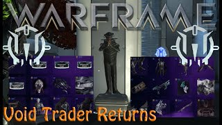 Warframe - Void Traders Returned! 146th Rotation [17th July 2020]