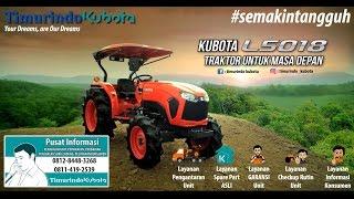 New Kubota Tractor L5018