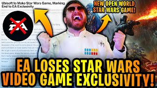 EA OFFICIALLY LOSES STAR WARS VIDEO GAME EXCLUSIVITY + NEW OPEN WORLD GAME CONFIRMED BY UBISOFT
