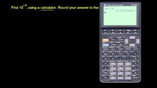 Calculator for Powers of 10