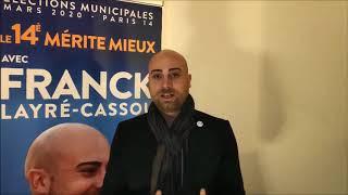 Communiqué Presse - Mise au point Franck Layré-Cassou Candidat mairie 14e