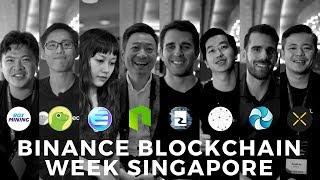 Binance Blockchain Week - Crypto Adoption, STOs, Bakkt, ETFs, Gaming, 2019 Goals, Top 3 Coins