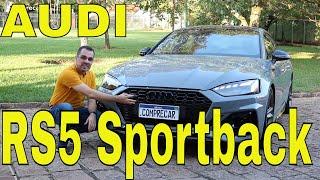Avaliação: Audi RS5 Sportback 2021