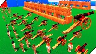 СУПЕР ПРОЧНАЯ КРЕПОСТЬ - Игра Wooden Battles. Лучшие игры для ПК