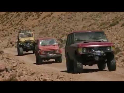 Scaling the Guallatiri volcano – Top Gear – BBC