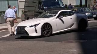 【スクープショット】Lexus LC500 NYの路上で目撃された実車画像!