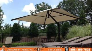 Cantilever Shade Structures | Cantilever shade made by Superior Shade, Installed by Korkat, Inc.