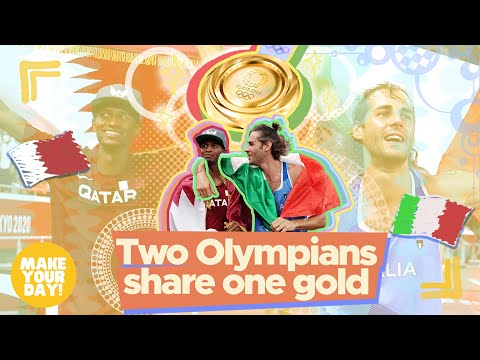 [GMA]  Two Olympians share one gold   Make Your Day