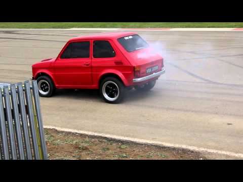 Modified Fiat 126 Maluch Drag Racing